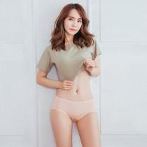 【Neoner銀離子】天絲棉中腰包邊款-膚色