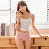 【Neoner銀離子】天絲棉高腰內褲-粉紅