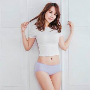 【Neoner銀離子】天絲棉中腰包邊款-淺紫